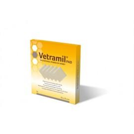 Vetramil Apósitos para Cicatrizar Heridas en Mascotas 5 ud. 10x10 cm.
