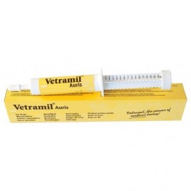 Vetramil Auris Gotas Óticas a base de Miel para los oídos de perros y gatos 15 ml.