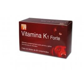 JT Vitamina K1 Forte vitaminas para perros y gatos 60 comprimidos