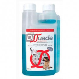 Dissuade concentrado 300 ml. repelente educativo mascotas