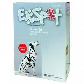 Pipetas Exspot 2 ml. 6 Pipetas para perros