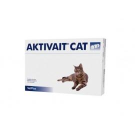 Aktivait Gatos contra el deterioro cognitivo de gatos mayores 60 Cápsulas