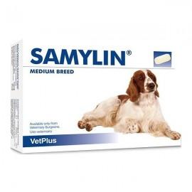 Samylin Razas Medianas para la salud del hígado en perros 30 ud (comprimidos/sobres)