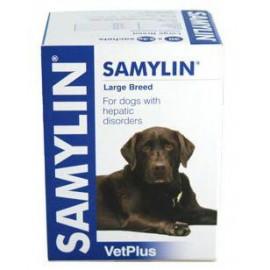Samylin Razas Grandes para la salud del hígado en perros 30 ud (comprimidos/sobres)