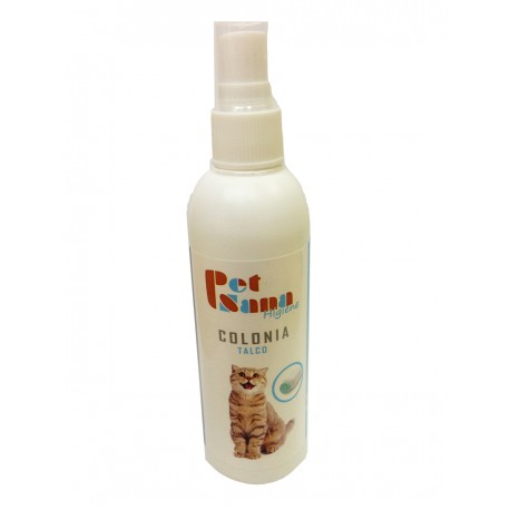 Pet Sana Colonia de Talco para Gatos 125 ml.