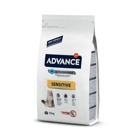 Advance Cat Salmón Sensitive 1,5 kg.