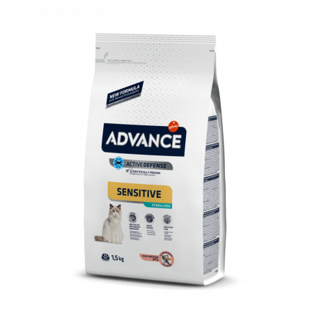 Advance Cat Sterilized Sensitive salmón 3 kg.