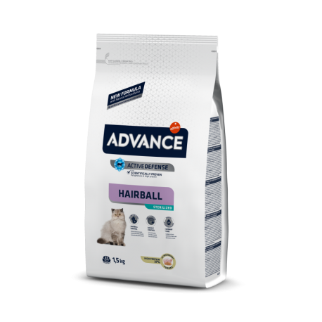 Advance Cat Steril Hairball 10 kg.