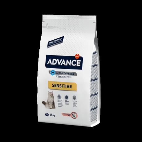 Advance Cat Adult Sensitive Salmon 3 kg.