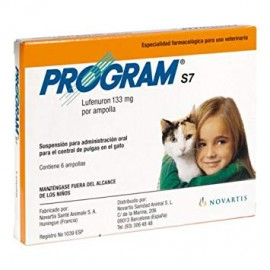Program S7 tratamiento antipulgas para gatos externo