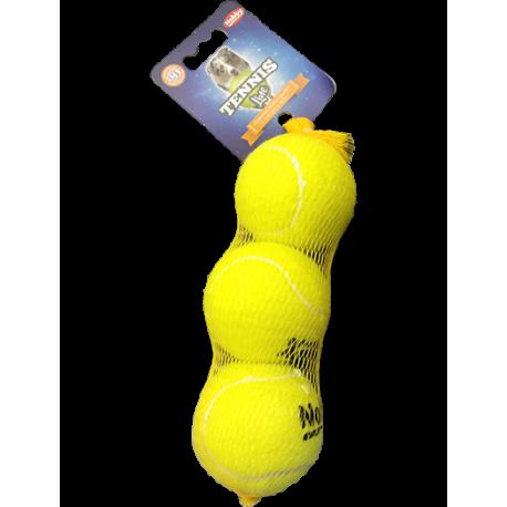 Pelota de tenis para perros 3 unidades