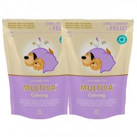 Pack de 2 Multiva Calming tranquilizante para gato y perro pequeño 2ud. al 50%