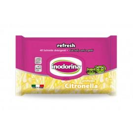 Toallitas Inodorina Refresh Citronella 40 ud.