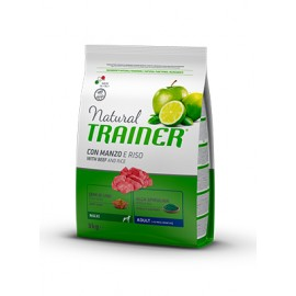Natural Trainer Maxi Adult Buey y Arroz 12 kg.