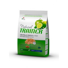 Natural Trainer Maxi Adult Pollo y Arroz 12 kg.
