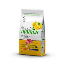 Natural Trainer Mini Adult Ternera y Arroz 2 kg.