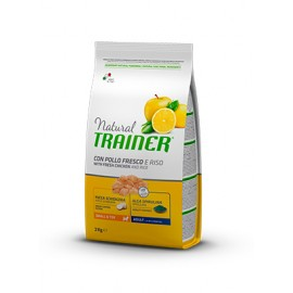 Natural Trainer Mini Adult Pollo fresco y Arroz 0,8/2/7 kg.