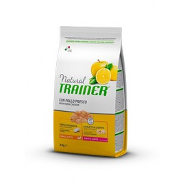 Natural Trainer Mini Puppy/Junior Pollo fresco 0,8/2 kg.