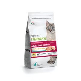 Natural Trainer Adult Carne Blanca gato Esterilizado 0,3/1,5/3 kg.