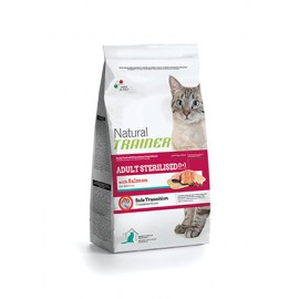 Natural Trainer Adult Salmón gato Esterilizado 1,5/3/7,5 kg.