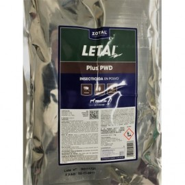 Letal Plus PWD 1 kg. Insecticida en polvo Zotal