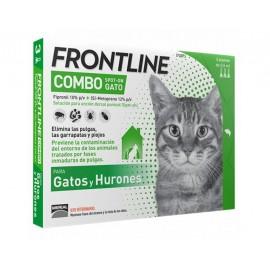 Frontline Combo para gatos y hurones (3/6 pipetas)