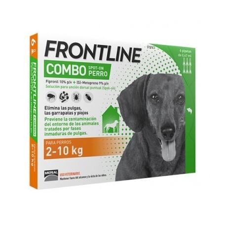 Frontline Spot On Combo 2-10 kg.