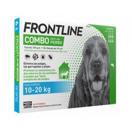 Frontline Combo para perros 10-20 kg. (3/6 pipetas)