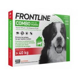 Frontline Combo para perros 40-60 kg (3-6 pipetas)