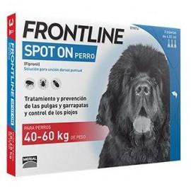 Frontline spot-on pipetas para perros de + 40 kg.