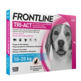 Frontline Tri-Act 10-20 kg. 3/6 pipetas