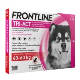 Frontline Tri-Act 40-60 kg. 3/6 pipetas