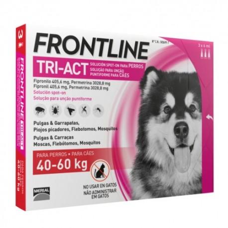 Frontline Tri-Act 40-60 kg. 3 pipetas