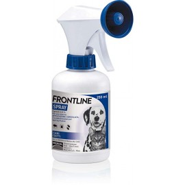 Frontline 250 ml. spray antiparasitario para perros y gatos