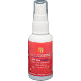 JT Hypoclorine Oral Care Hidrogel tratamiento oral para perros y gatos 60 ml.