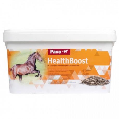 Pavo Healthboost suplemento alimentario para aumentar la vitalidad de los caballos 8 kg.