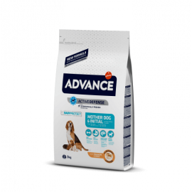 Advance Mother Dog & Initial. Pienso de alta gama para madres y cachorros.
