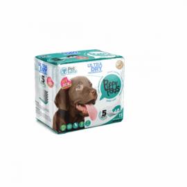 Empapadores Puppy Pads 90 x 60 cm. para perros 15 ud.