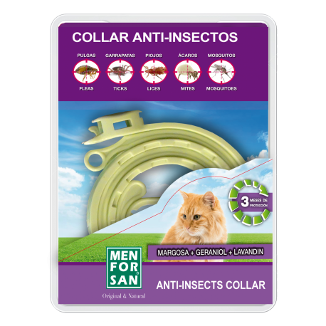Menforsan Collar Repelente Natural para gatos