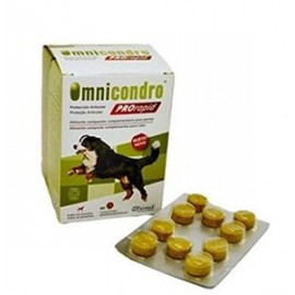 Omnicondro Pro Rapid para el desgaste articular en perros y gatos 60 comp.