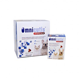 Omnicutis Atopicalm tratamiento dermatitis atópica en perros y gatos (30/200 perlas)