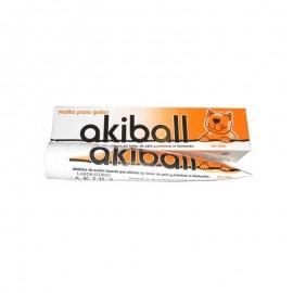 Akiball malta prevención bolas de pelo para gatos 100 gr.