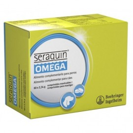Seraquin Omega cuidado articular para perros y gatos 60 comprimidos