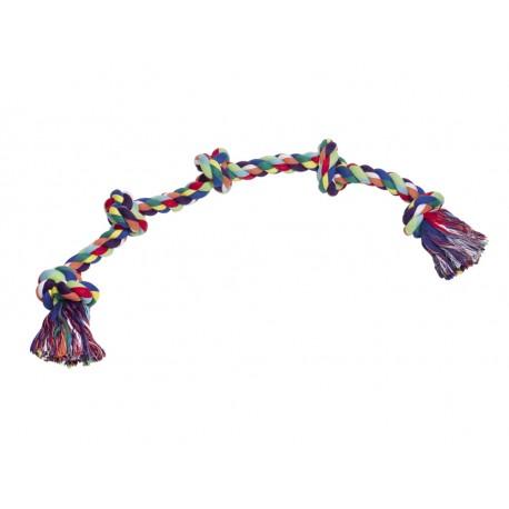 Cuerda Dental Bicolor 4 nudos