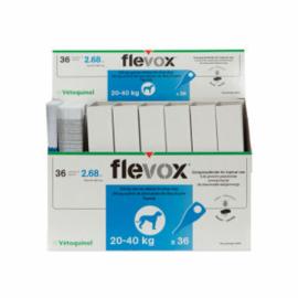 Pipetas Flevox L. 20-40 kg.