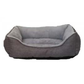 Cuna gris para perros pequeños y gatos
