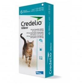 Credelio gato 2-8 kg. 6 comprimidos