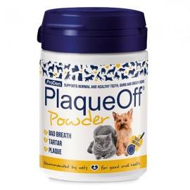Plaqueoff suplemento contra el sarro y el mal aliento para perros y gatos 40 gr.