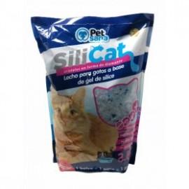 Arena de sílice para gatos azul 3,8 l.