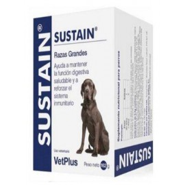Sustain suplemento probiótico para perros de razas grandes 30 sobres